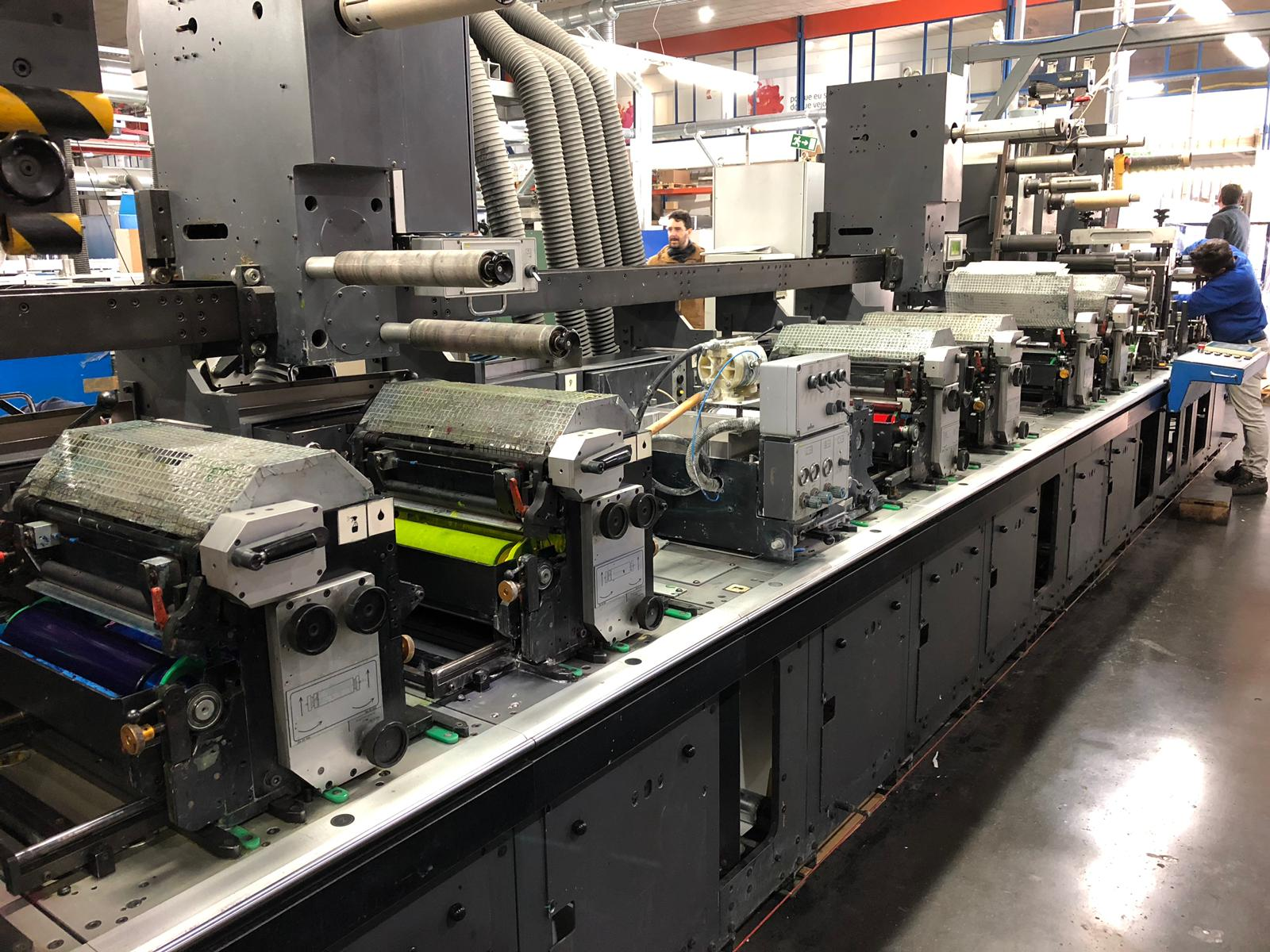 Gallus EM340 - Used Flexo Printing Presses and Used Flexographic Equipment-7