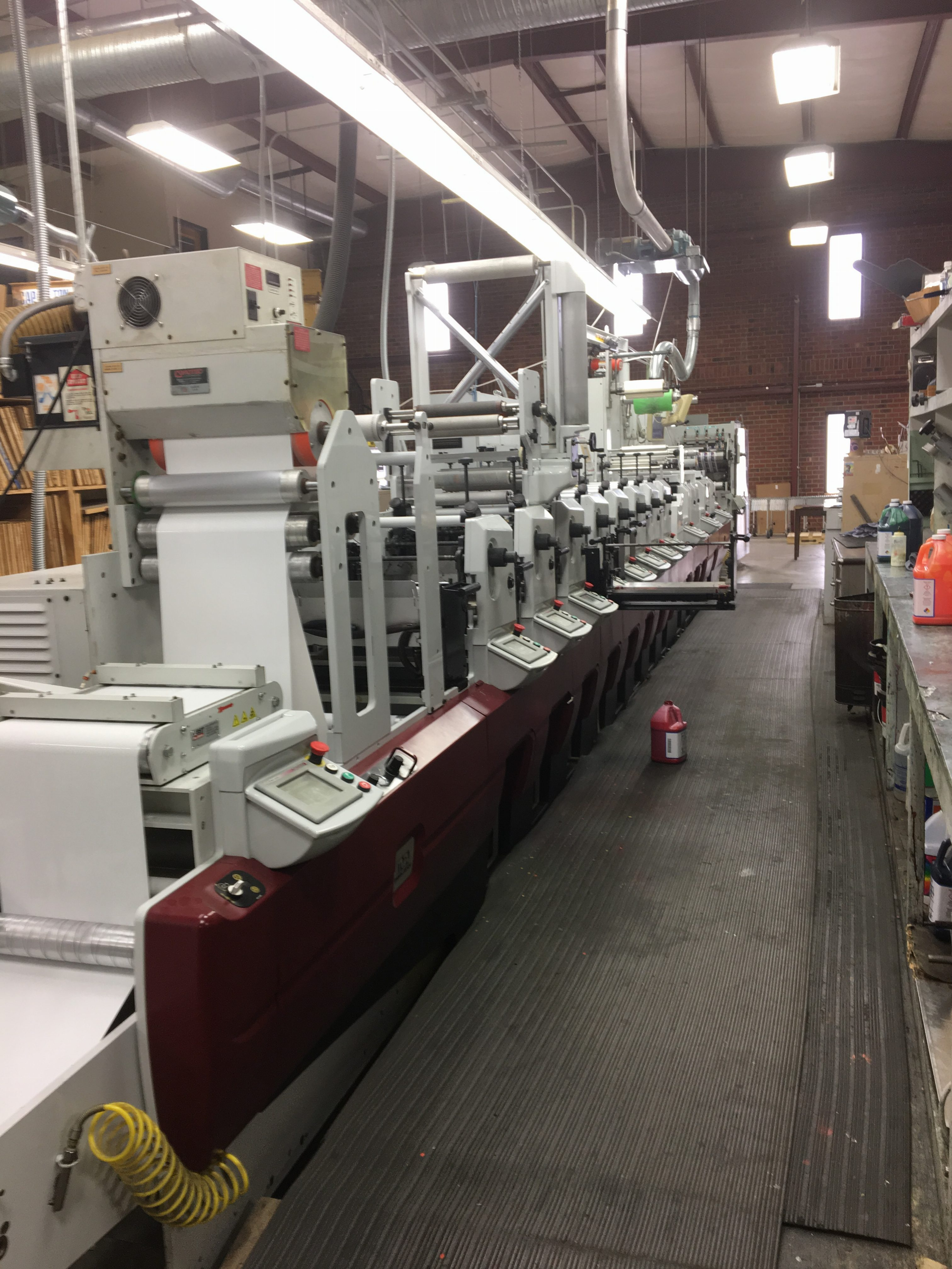 Mark Andy XP5000 - Used Flexo Printing Presses and Used Flexographic Equipment-0