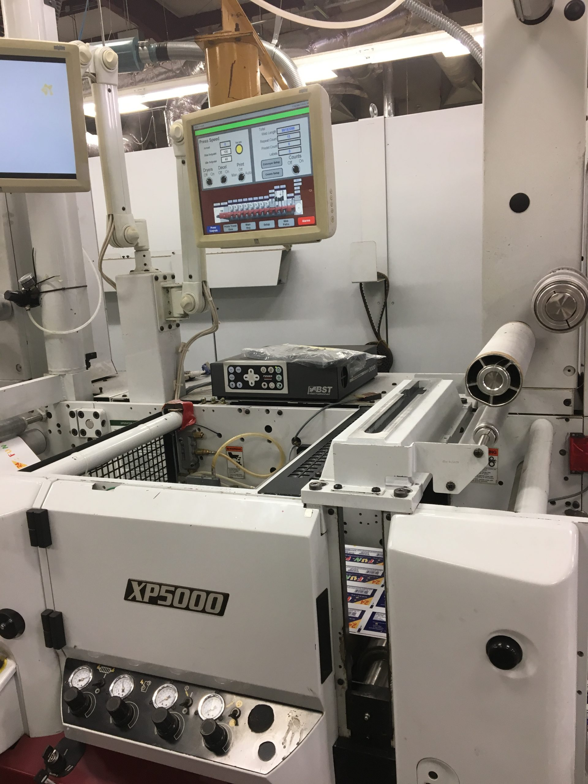 Mark Andy XP5000 - Used Flexo Printing Presses and Used Flexographic Equipment-2