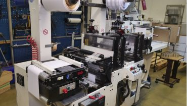Burton Engineering Omega SR330 - Used Flexo Printing Presses and Used Flexographic Equipment