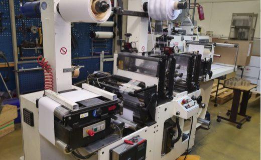 Burton Engineering Omega SR330 - Used Flexo Printing Presses and Used Flexographic Equipment
