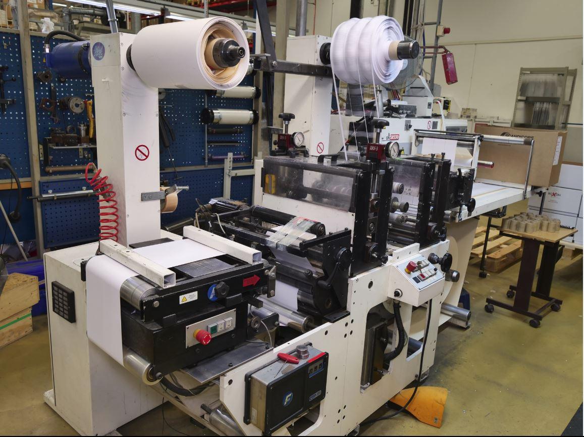 Burton Engineering Omega SR330 - Used Flexo Printing Presses and Used Flexographic Equipment-0
