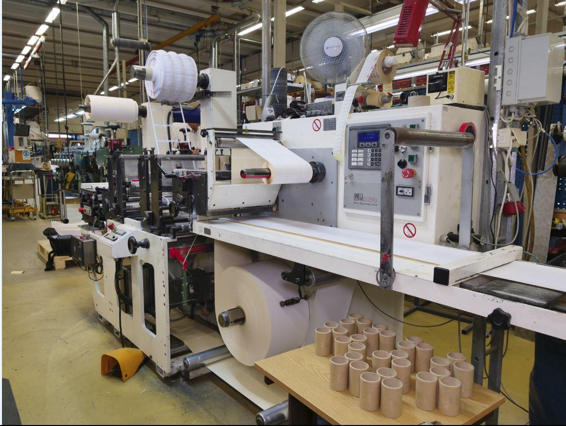 Burton Engineering Omega SR330 - Used Flexo Printing Presses and Used Flexographic Equipment-1