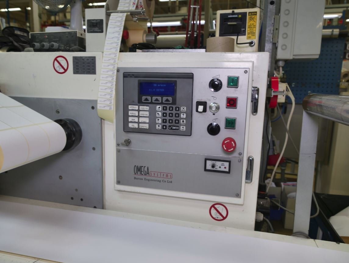 Burton Engineering Omega SR330 - Used Flexo Printing Presses and Used Flexographic Equipment-3