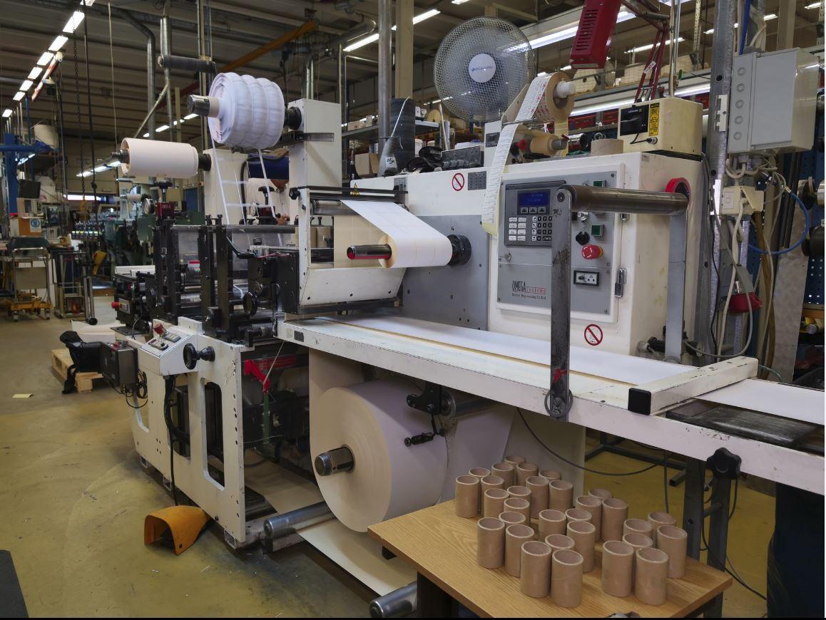 Burton Engineering Omega SR330 - Used Flexo Printing Presses and Used Flexographic Equipment-4