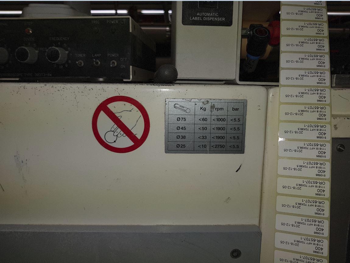 Burton Engineering Omega SR330 - Used Flexo Printing Presses and Used Flexographic Equipment-5