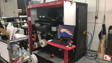 Jetrion 4830 - Used Flexo Printing Presses and Used Flexographic Equipment