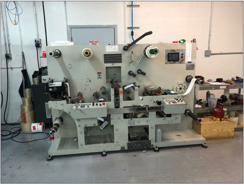 Ruian Cambridge Rotary Die Cutter - Used Flexo Printing Presses and Used Flexographic Equipment-0