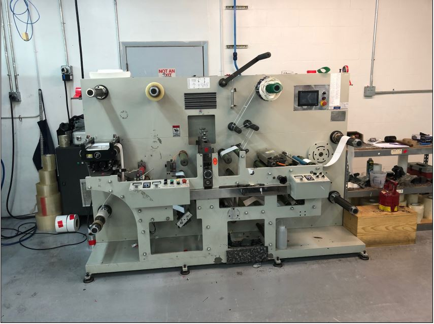 Ruian Cambridge Rotary Die Cutter - Used Flexo Printing Presses and Used Flexographic Equipment-1