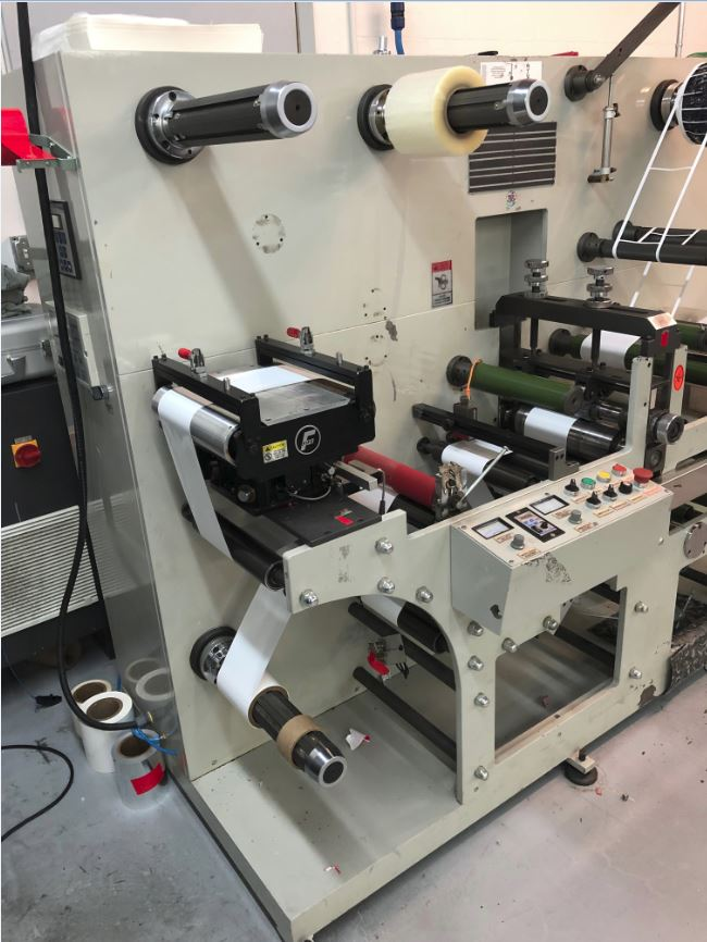 Ruian Cambridge Rotary Die Cutter - Used Flexo Printing Presses and Used Flexographic Equipment-3