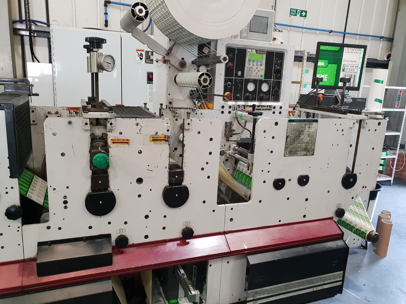 Mark Andy 2200 - Used Flexo Printing Presses and Used Flexographic Equipment-2