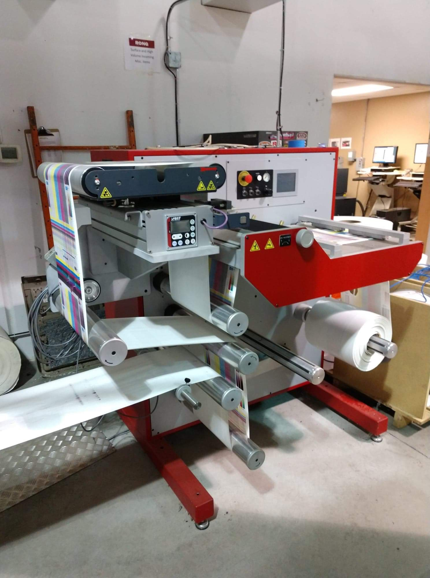 Xeikon 3030 - Used Flexo Printing Presses and Used Flexographic Equipment-1