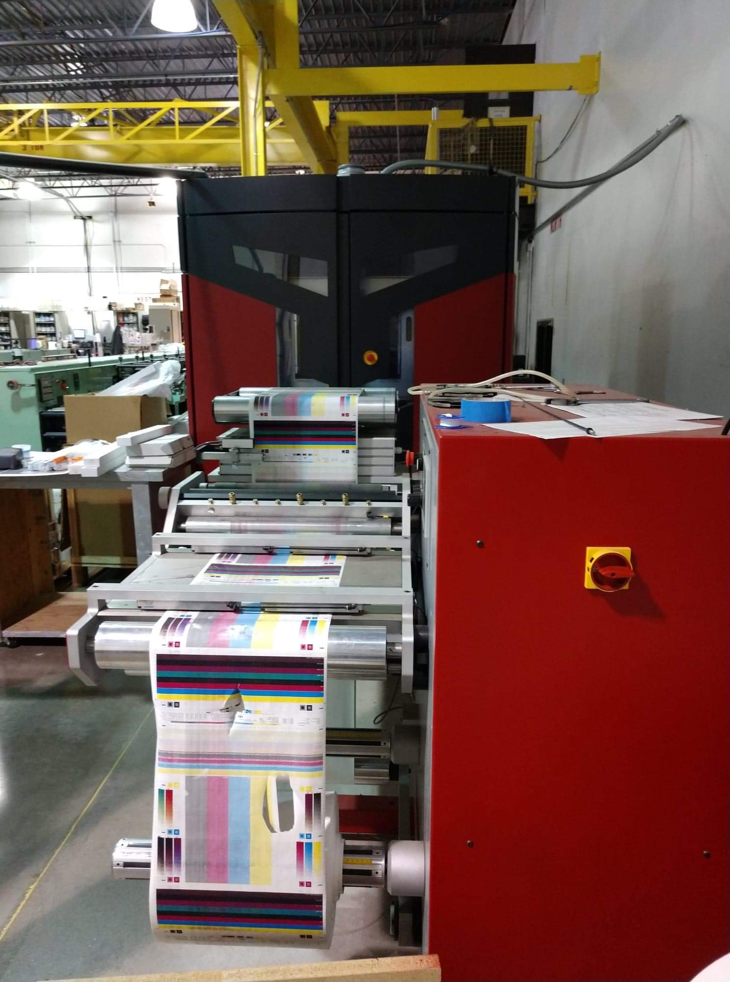 Xeikon 3030 - Used Flexo Printing Presses and Used Flexographic Equipment-2