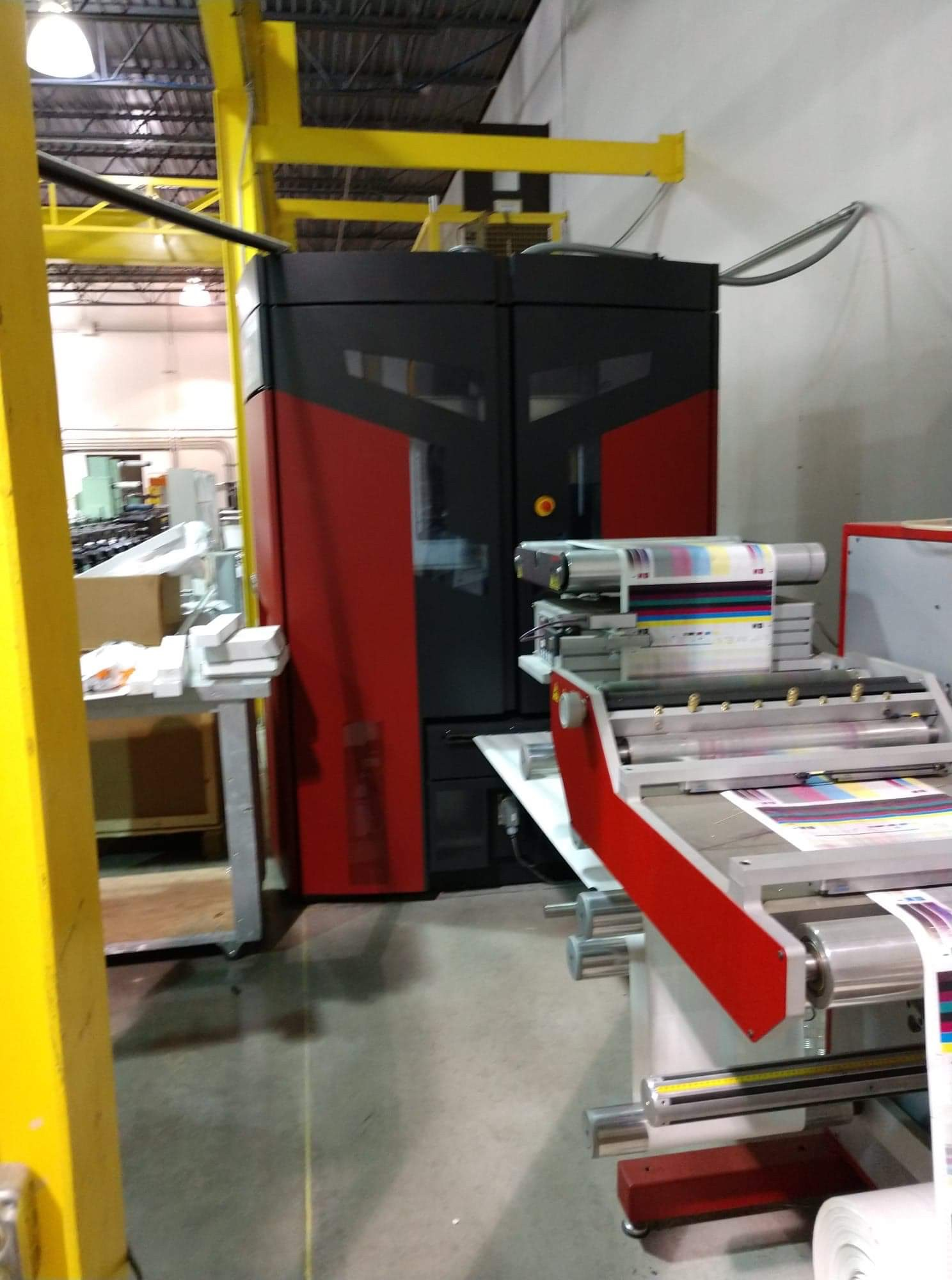 Xeikon 3030 - Used Flexo Printing Presses and Used Flexographic Equipment-7