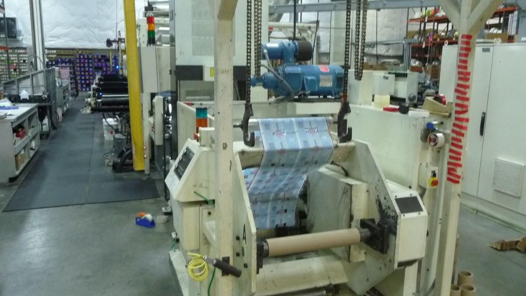 Comco Proglide MSP - Used Flexo Printing Presses and Used Flexographic Equipment-0