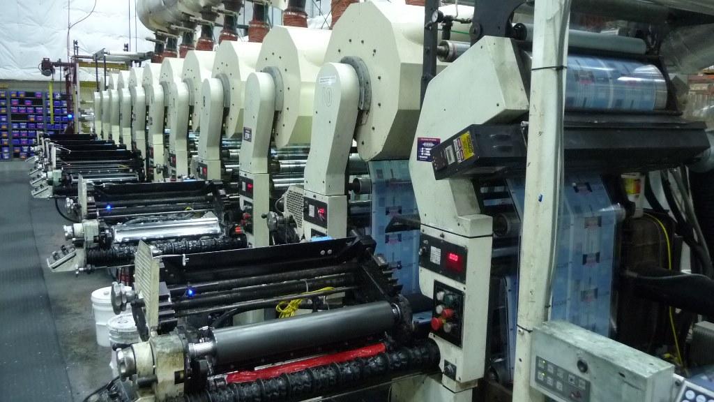 Comco Proglide MSP - Used Flexo Printing Presses and Used Flexographic Equipment-3