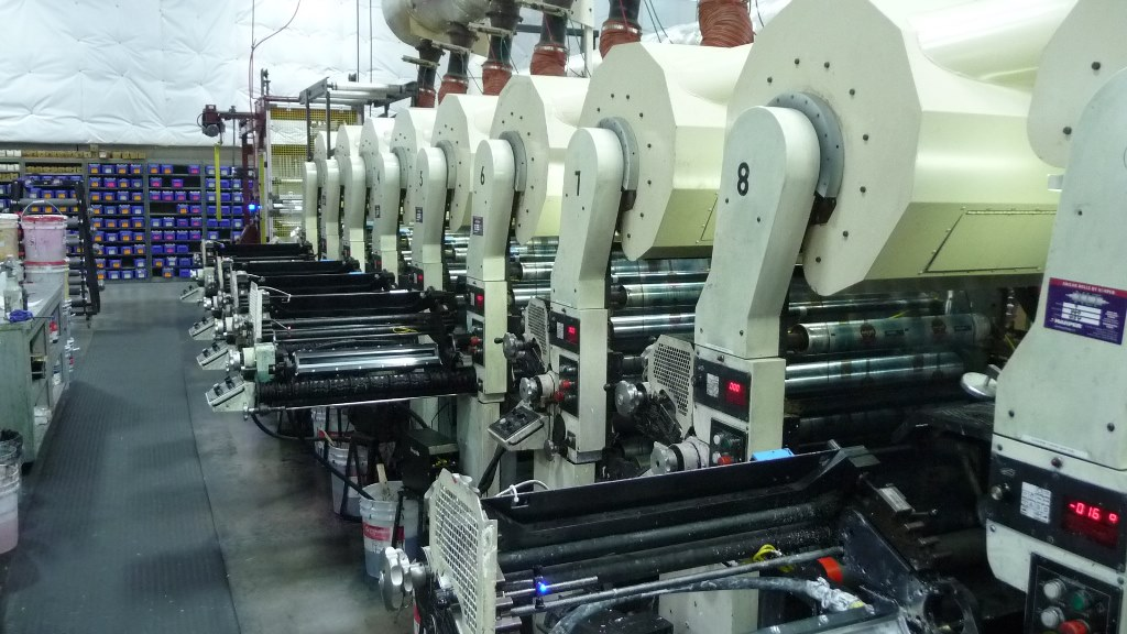 Comco Proglide MSP - Used Flexo Printing Presses and Used Flexographic Equipment-4