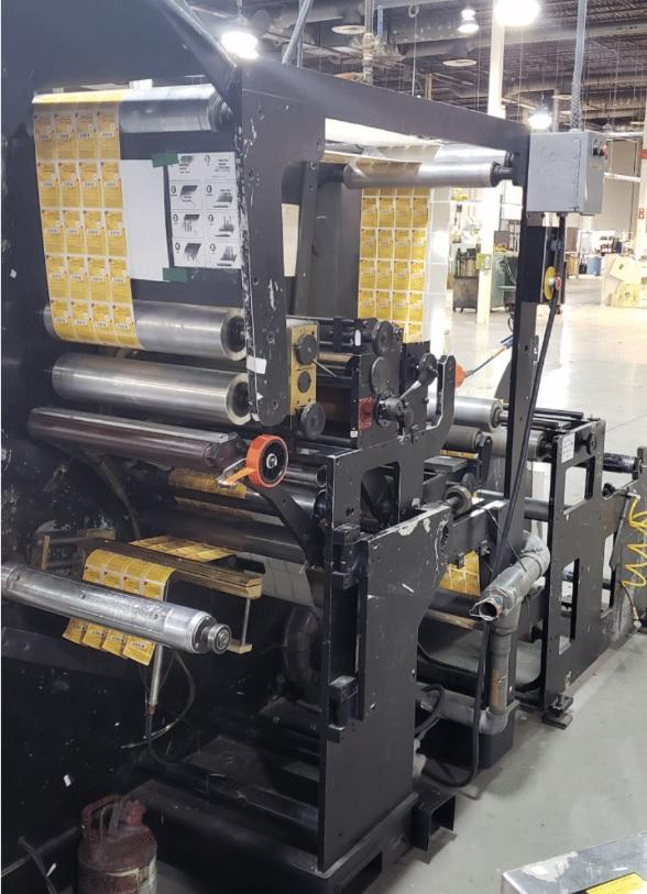 Rotoflex VLI400 - Used Flexo Printing Presses and Used Flexographic Equipment-7