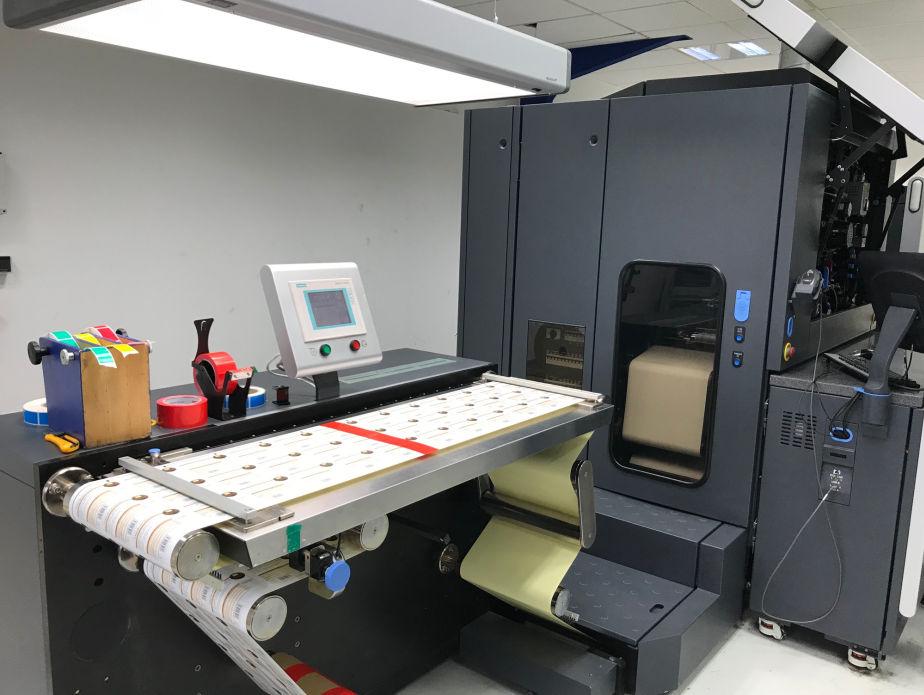 HP Indigo WS6600 - Used Flexo Printing Presses and Used Flexographic Equipment-9