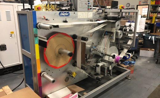 Schober RFID Machinery - Used Flexo Printing Presses and Used Flexographic Equipment
