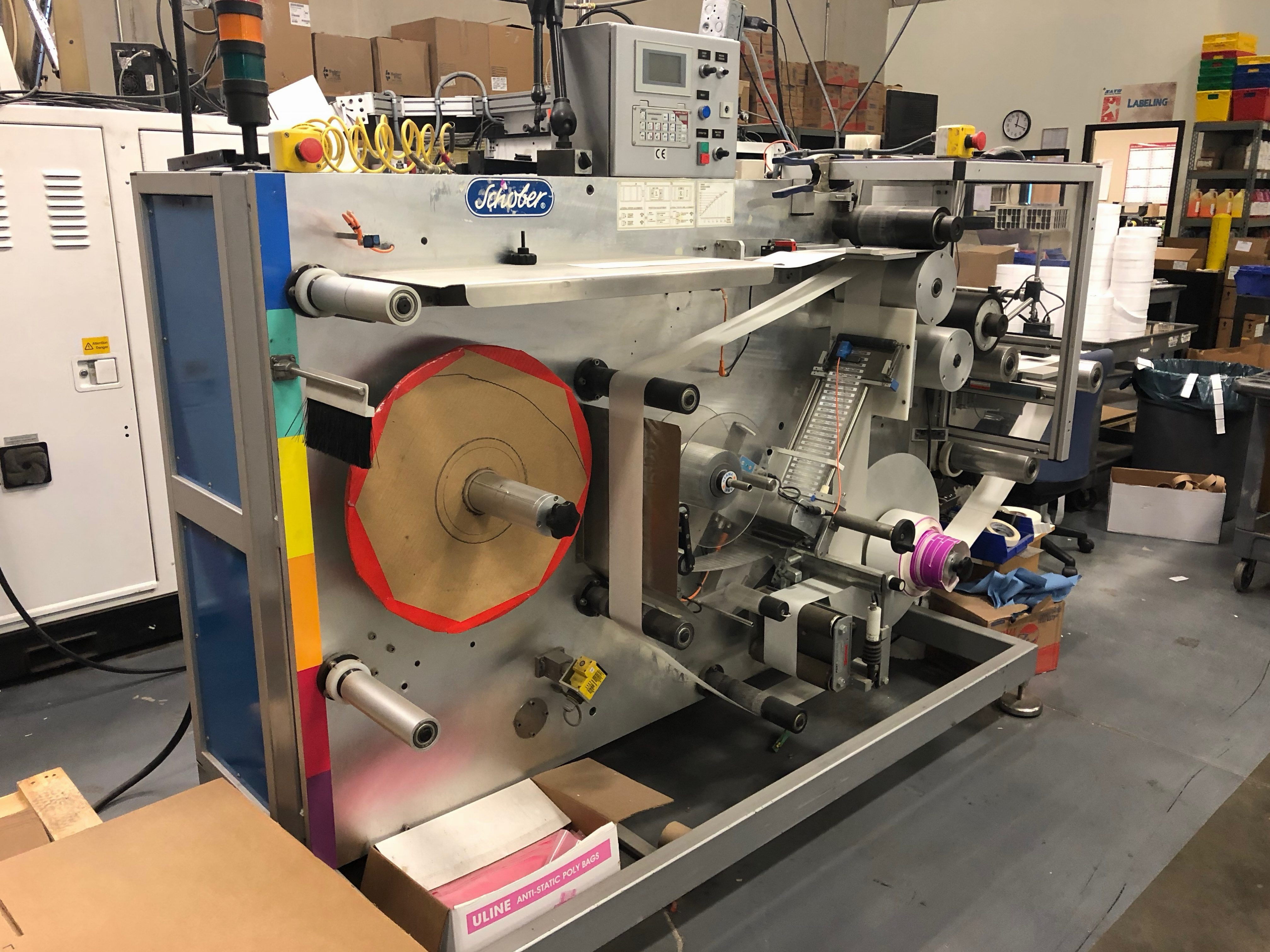 Schober RFID Machinery - Used Flexo Printing Presses and Used Flexographic Equipment-0