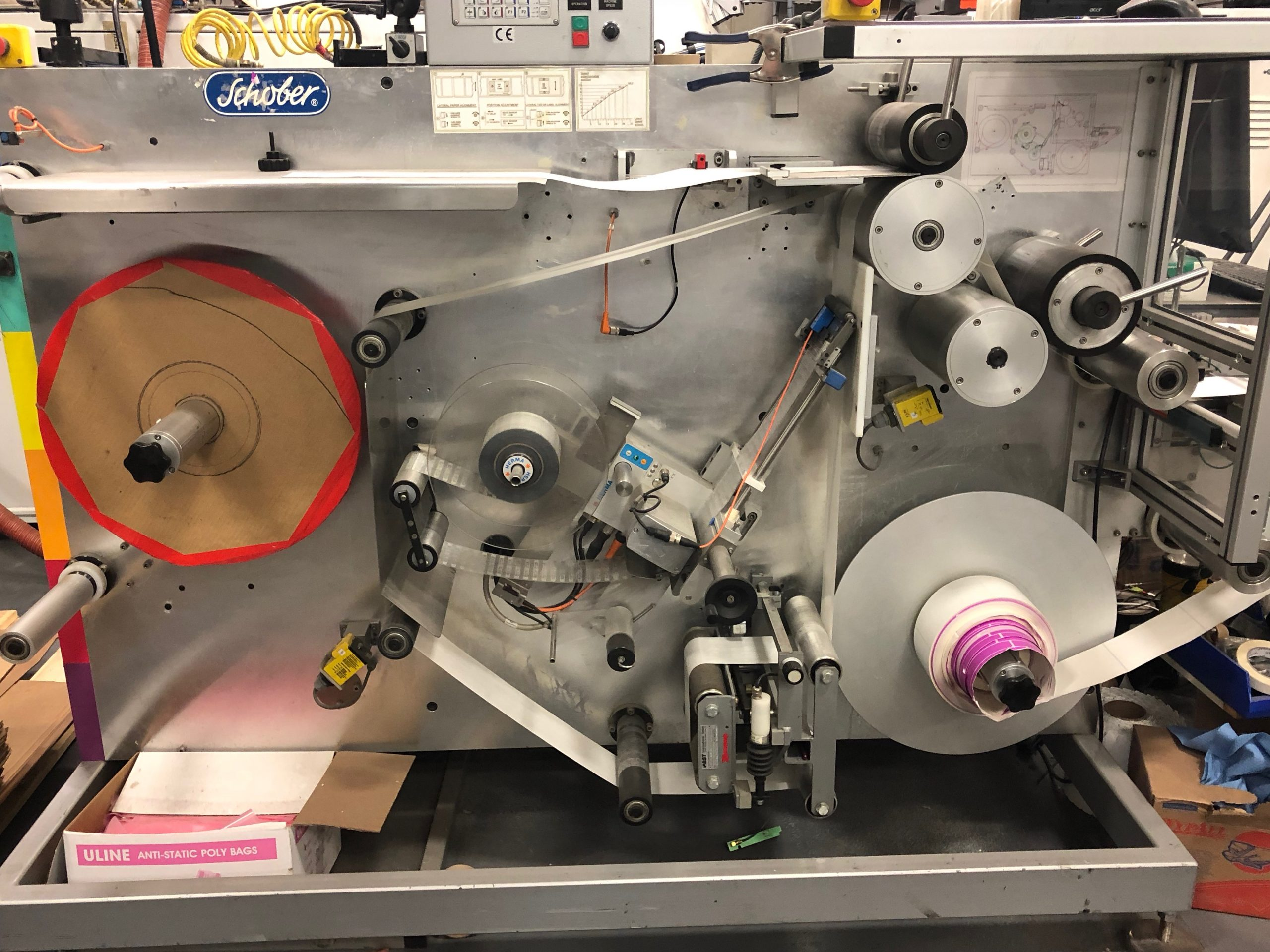 Schober RFID Machinery - Used Flexo Printing Presses and Used Flexographic Equipment-1