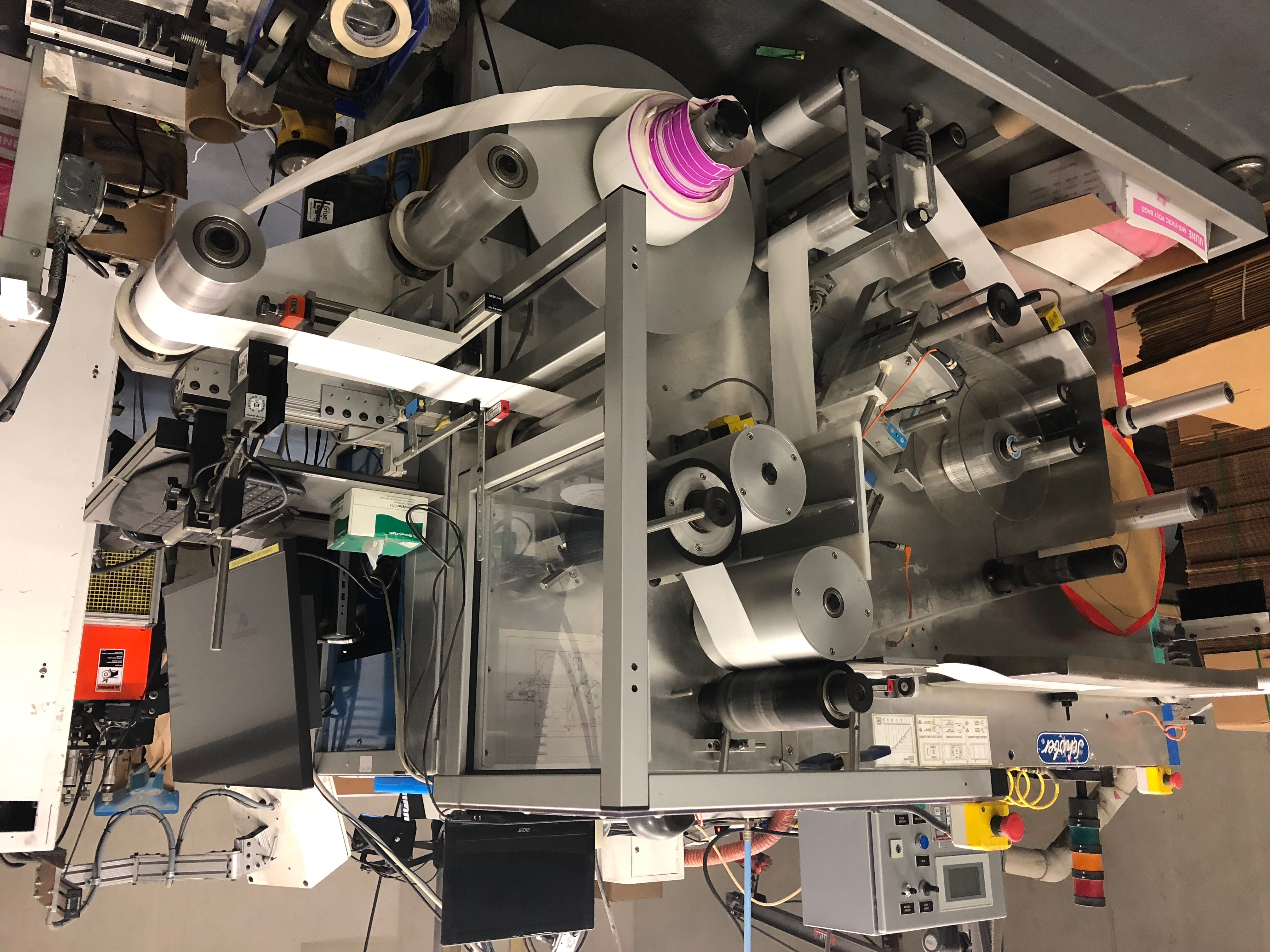 Schober RFID Machinery - Used Flexo Printing Presses and Used Flexographic Equipment-2