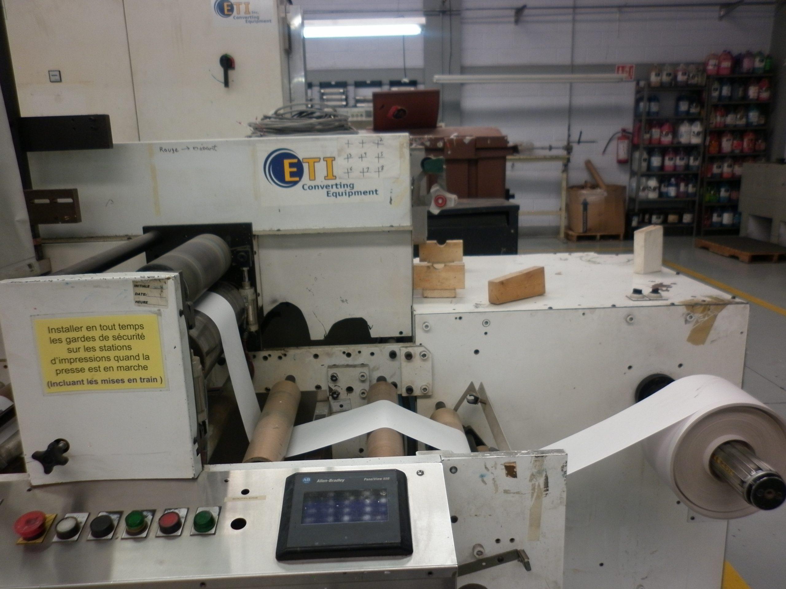 ETI Metronome - Used Flexo Printing Presses and Used Flexographic Equipment-2