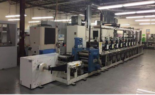 ETI Metronome - Used Flexo Printing Presses and Used Flexographic Equipment