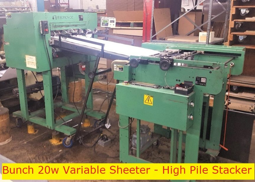BBunch & Variable High Pile Stacker
