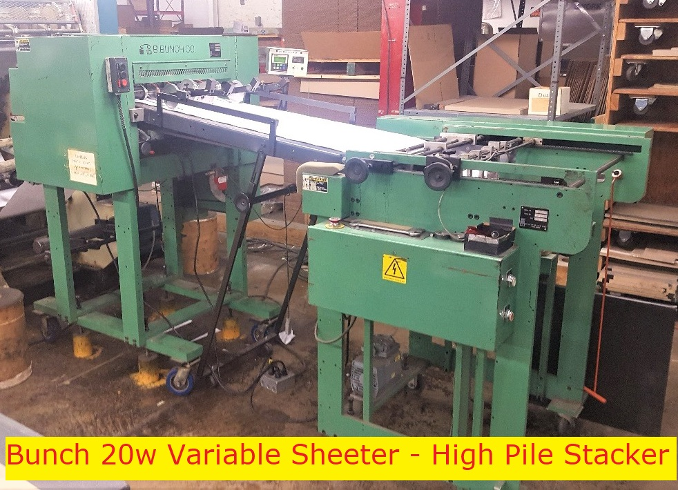 BBunch & Variable High Pile Stacker - Used Flexo Printing Presses and Used Flexographic Equipment-0