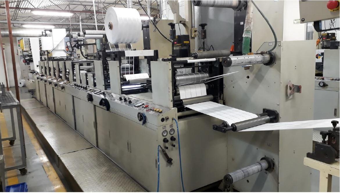 Ekofa JH1300 - Used Flexo Printing Presses and Used Flexographic Equipment-0