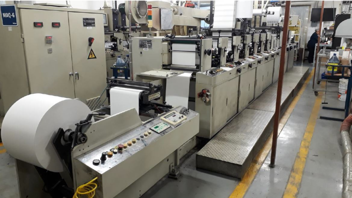 Ekofa JH1300 - Used Flexo Printing Presses and Used Flexographic Equipment-1