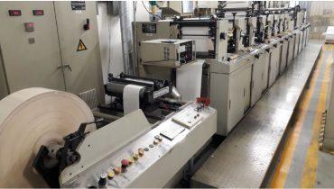 Ekofa JH1300 - Used Flexo Printing Presses and Used Flexographic Equipment