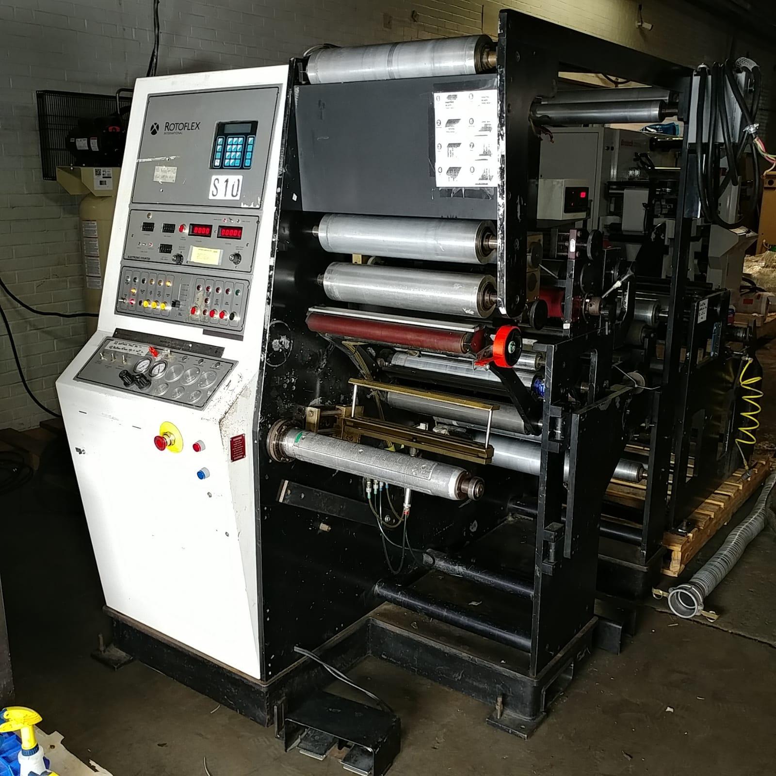 Rotoflex VLI400 - Used Flexo Printing Presses and Used Flexographic Equipment-4