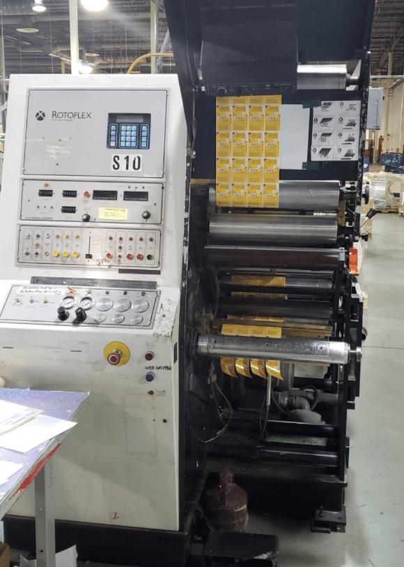 Rotoflex VLI400 - Used Flexo Printing Presses and Used Flexographic Equipment-3