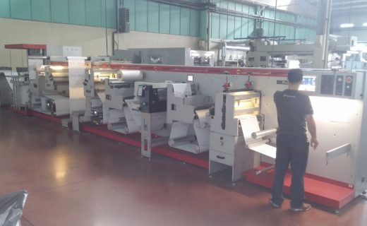 GM XP500 - Used Flexo Printing Presses and Used Flexographic Equipment
