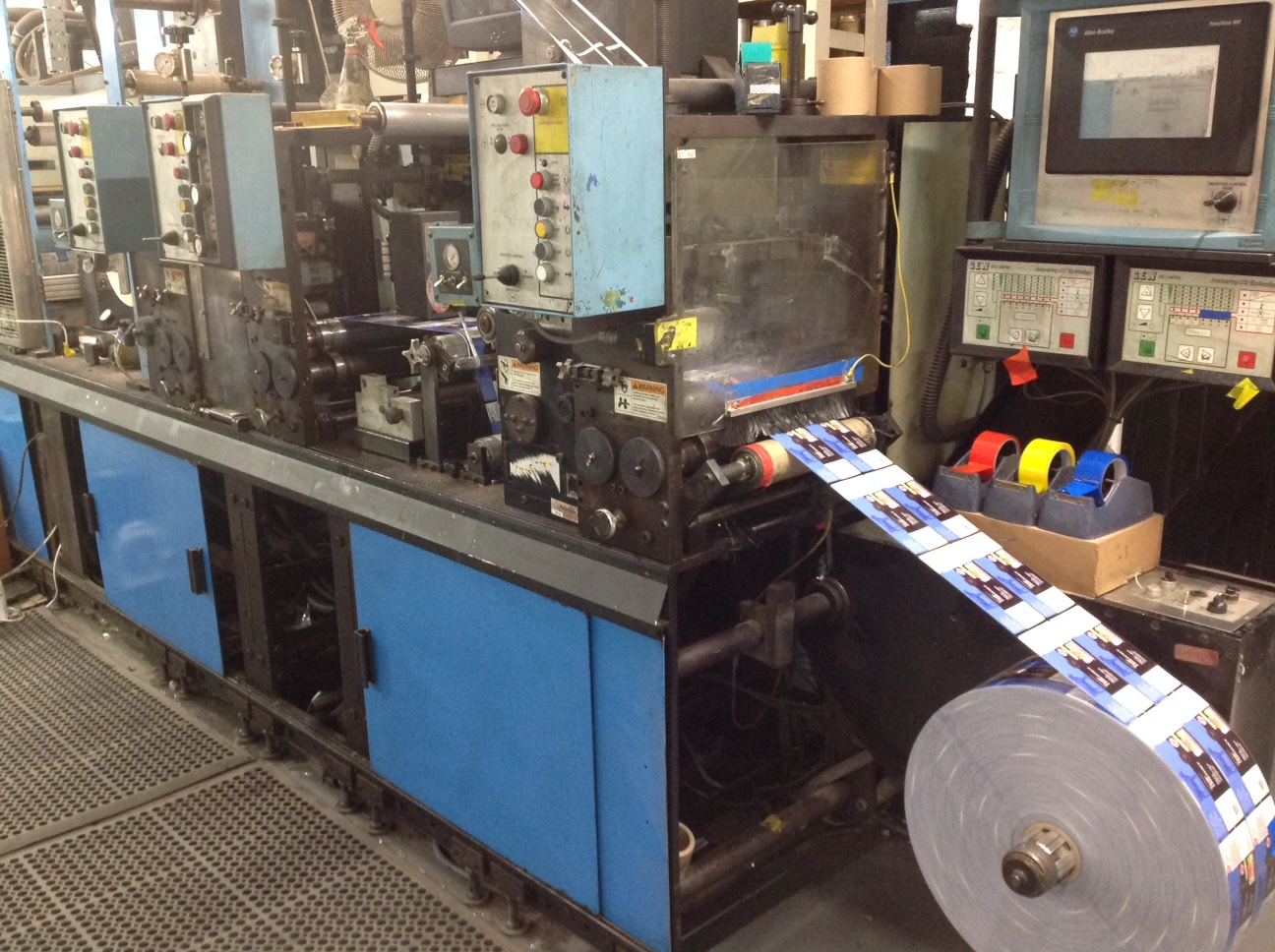 Webtron 1000 - Used Flexo Printing Presses and Used Flexographic Equipment-4