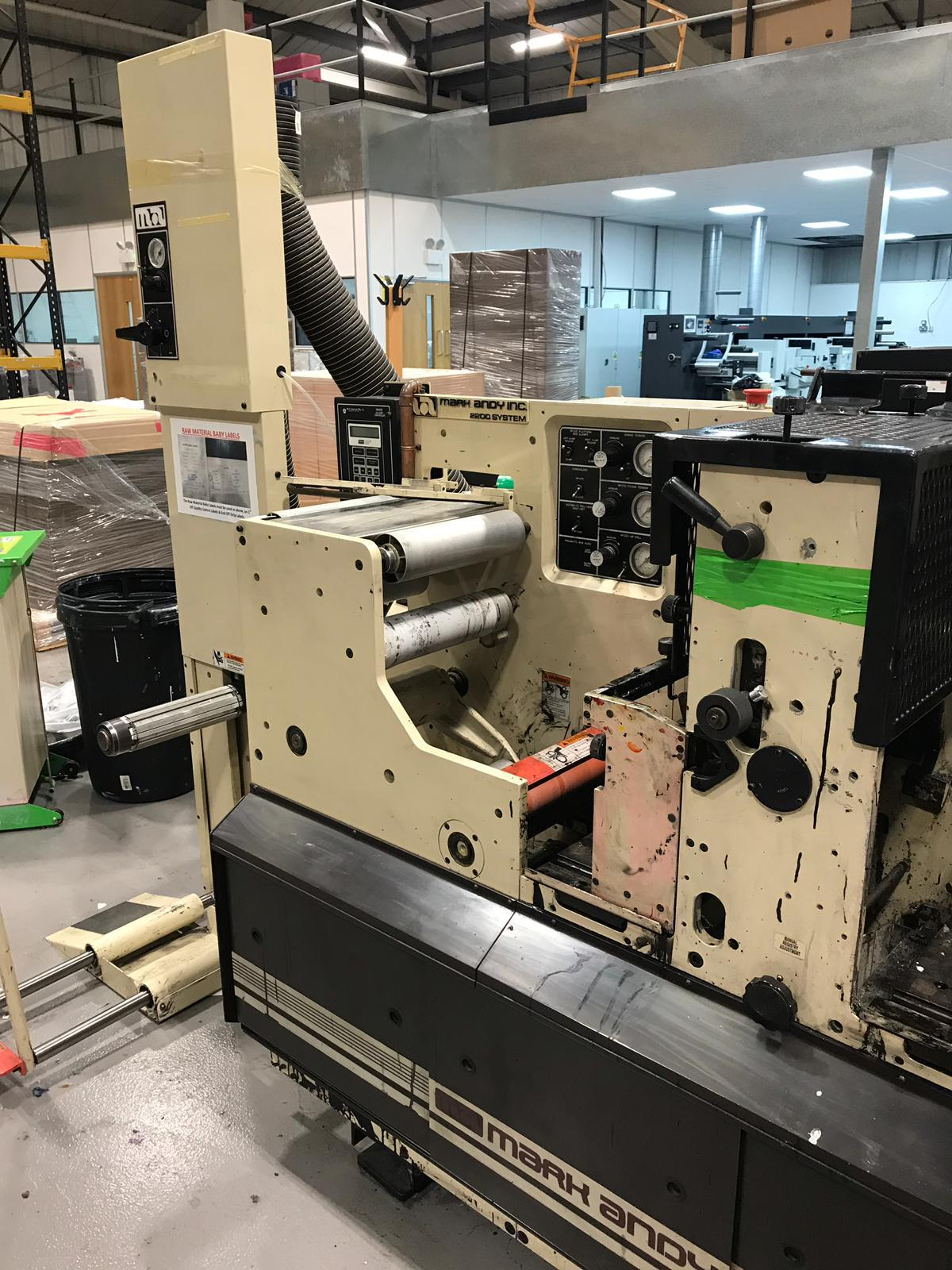 Mark Andy 2200 - Used Flexo Printing Presses and Used Flexographic Equipment-16