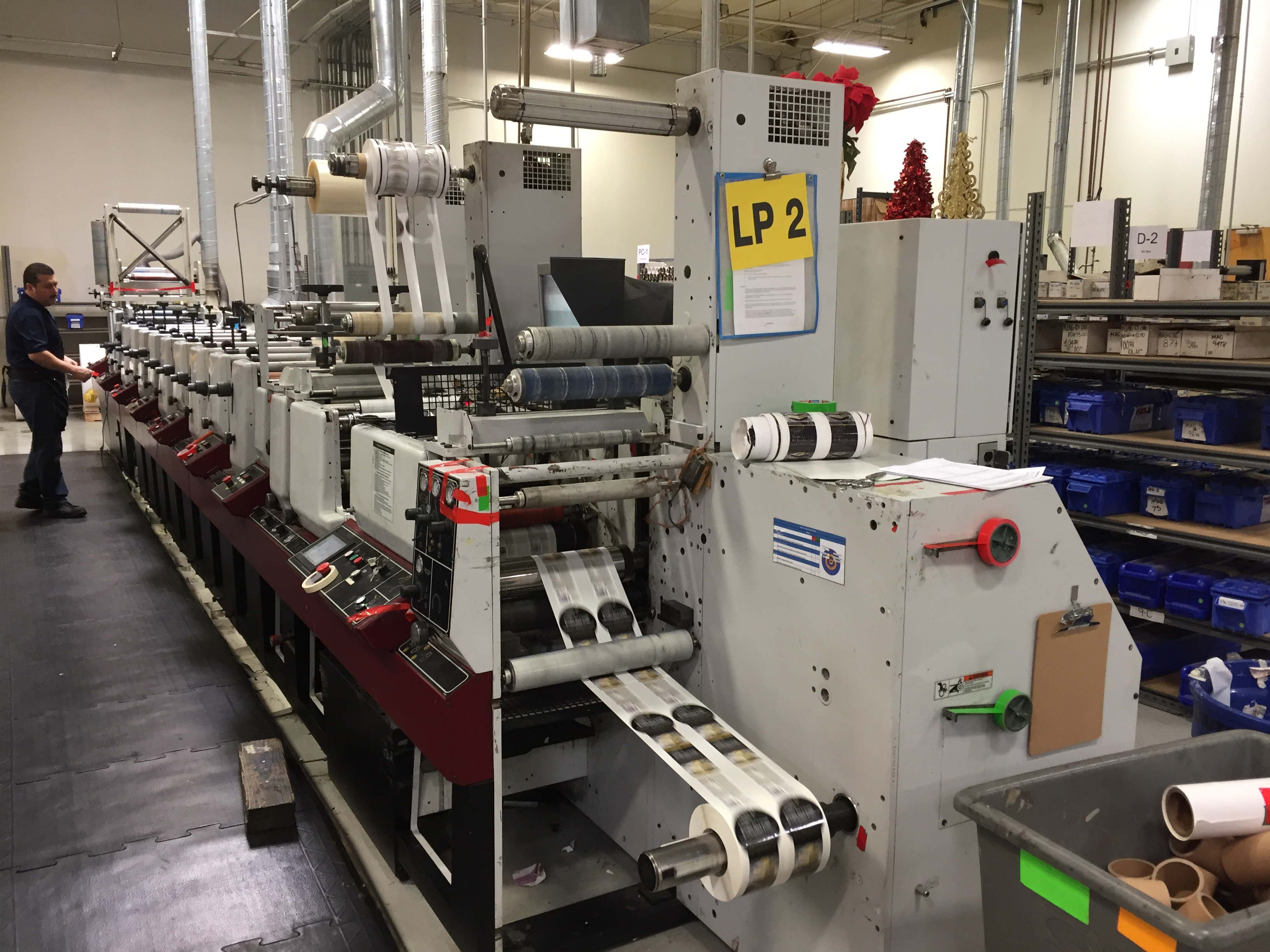 Mark Andy LP3000 - Used Flexo Printing Presses and Used Flexographic Equipment-6