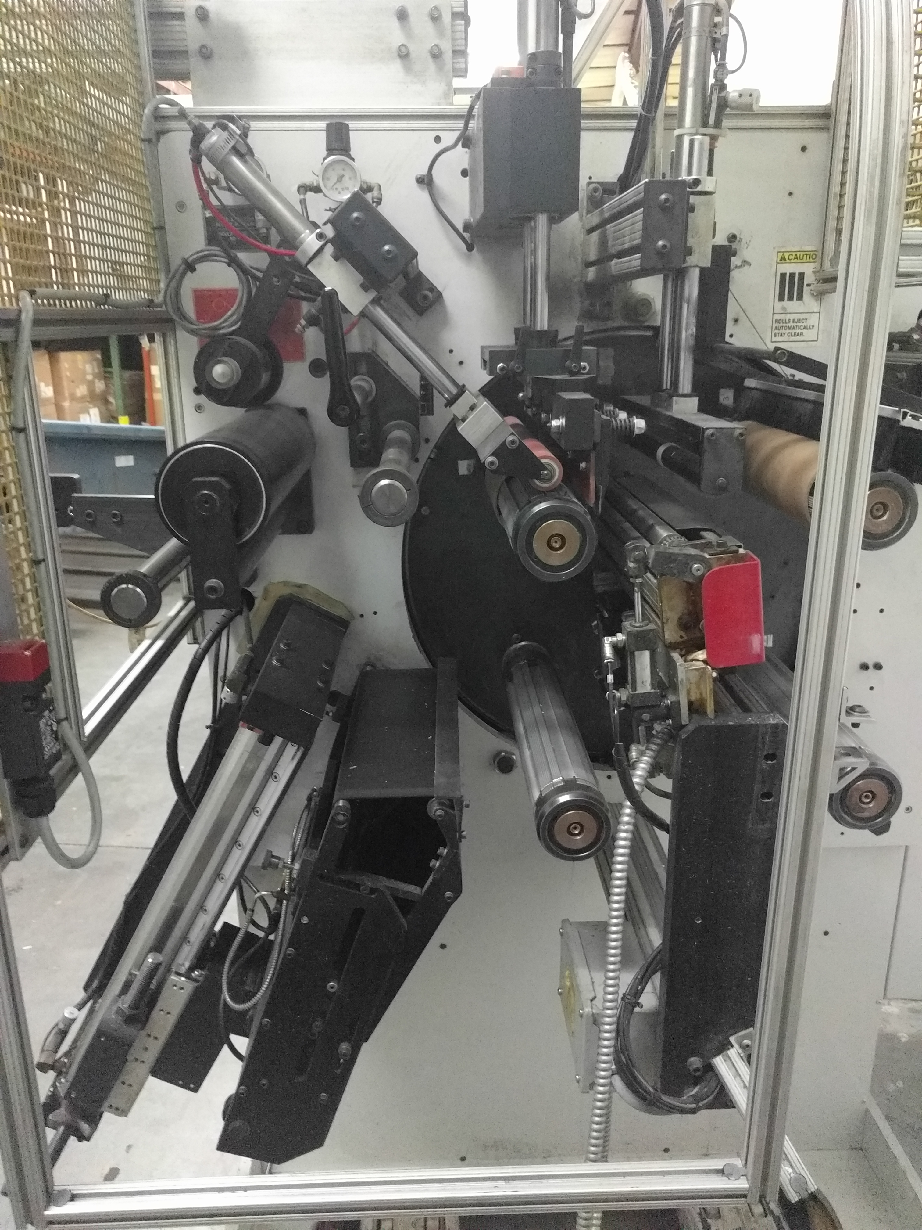 CTC Turret Rewinder - Used Flexo Printing Presses and Used Flexographic Equipment-0