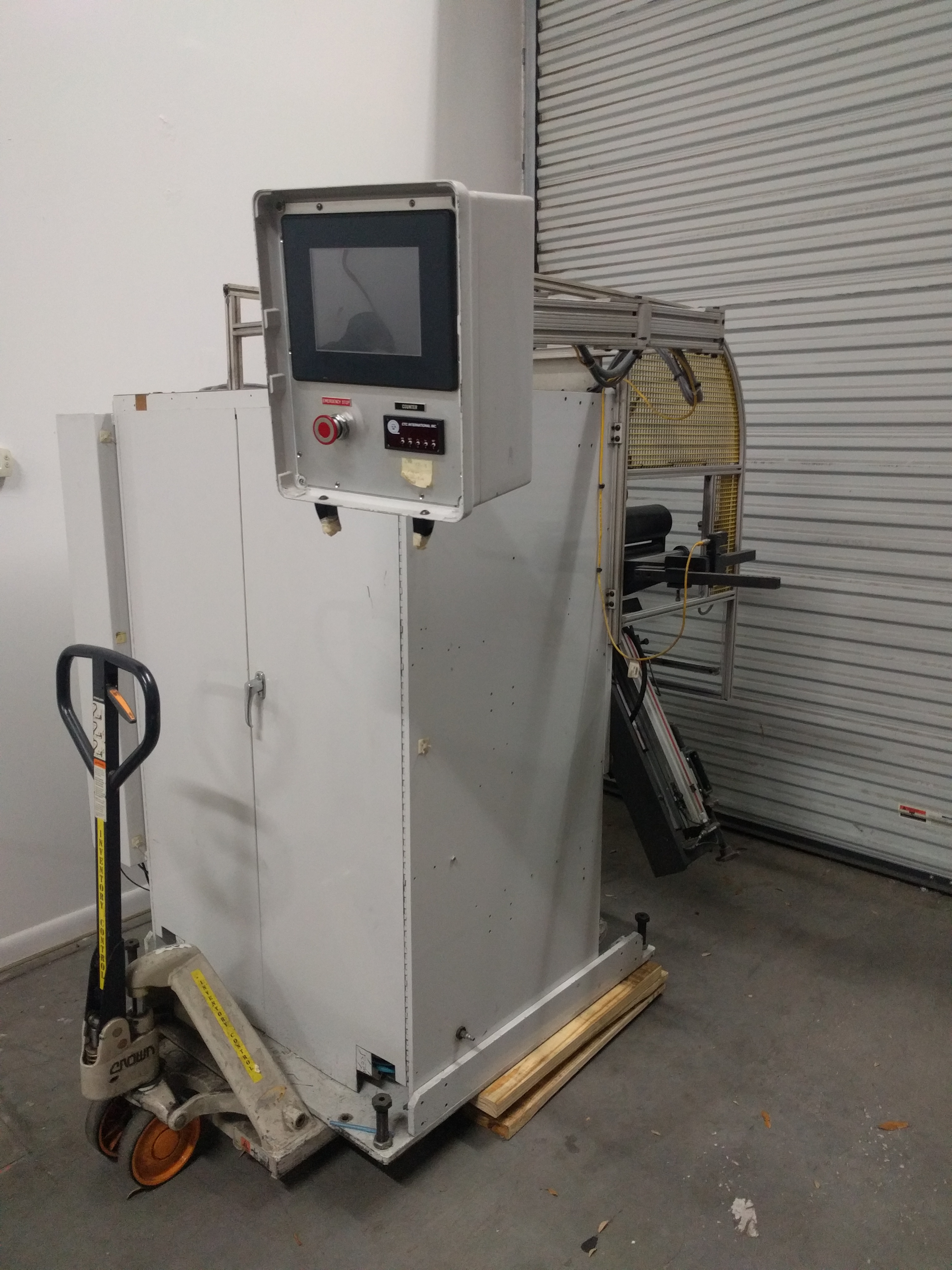 CTC Turret Rewinder - Used Flexo Printing Presses and Used Flexographic Equipment-2