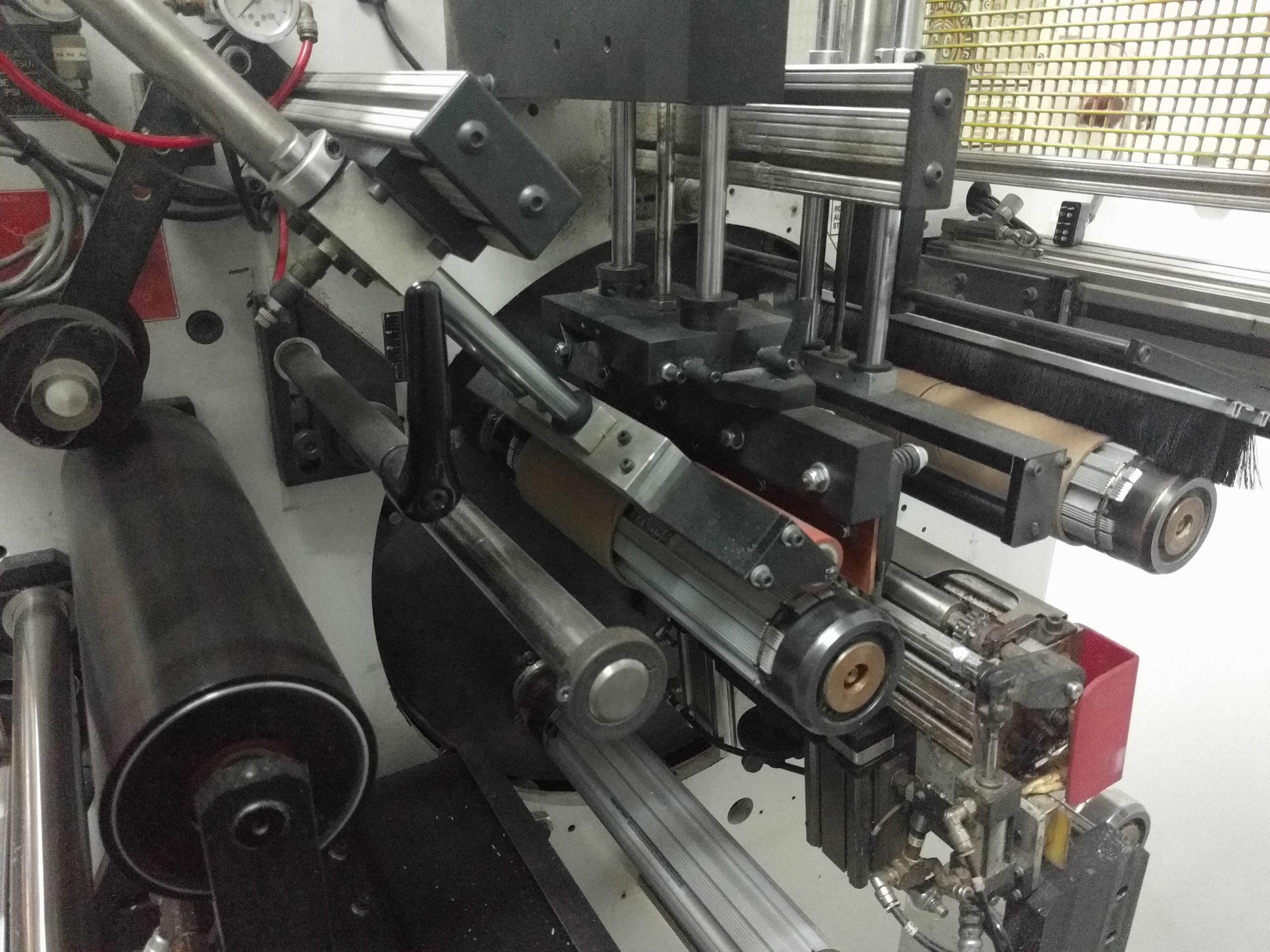 CTC Turret Rewinder - Used Flexo Printing Presses and Used Flexographic Equipment-4