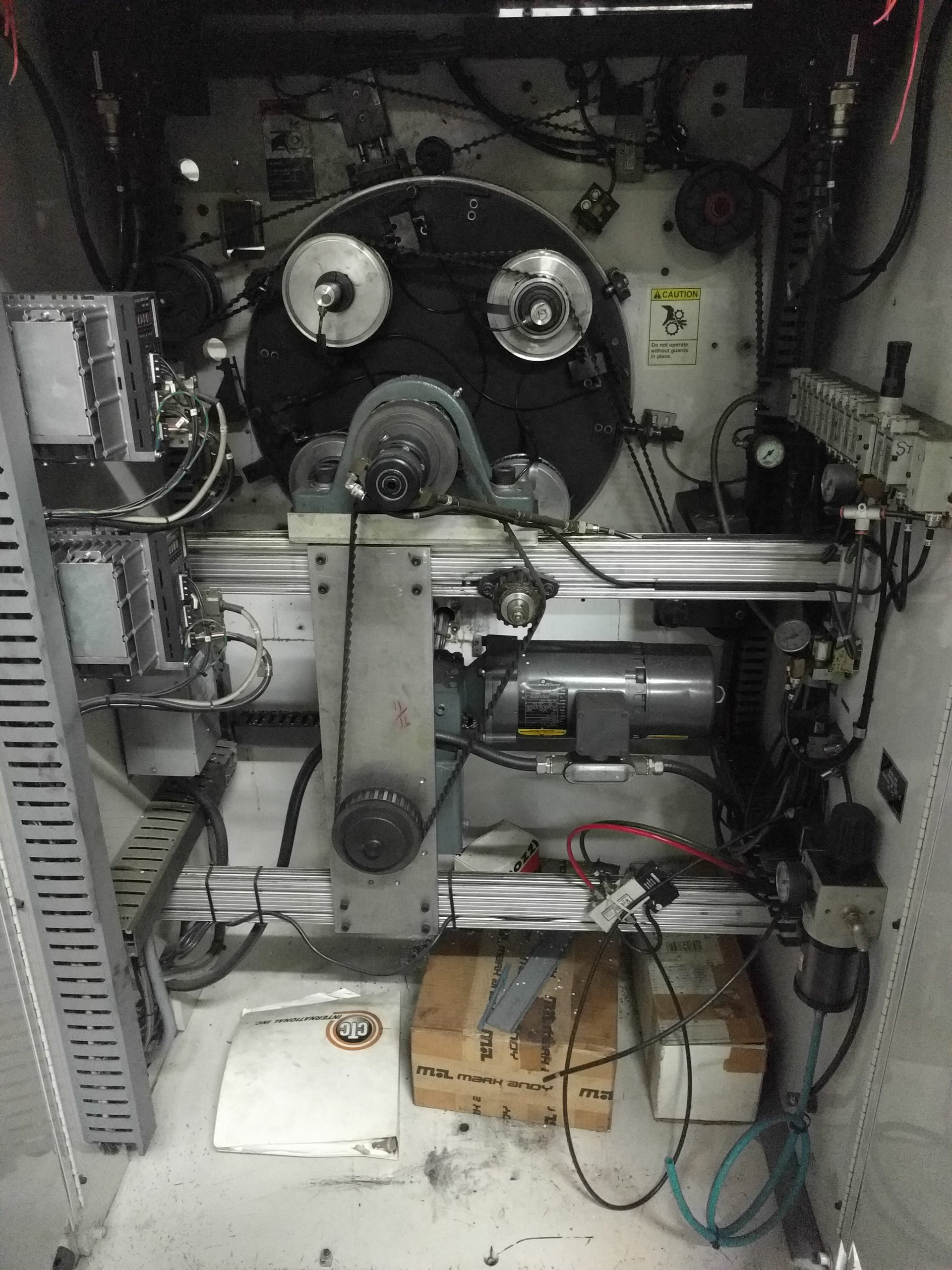 CTC Turret Rewinder - Used Flexo Printing Presses and Used Flexographic Equipment-6