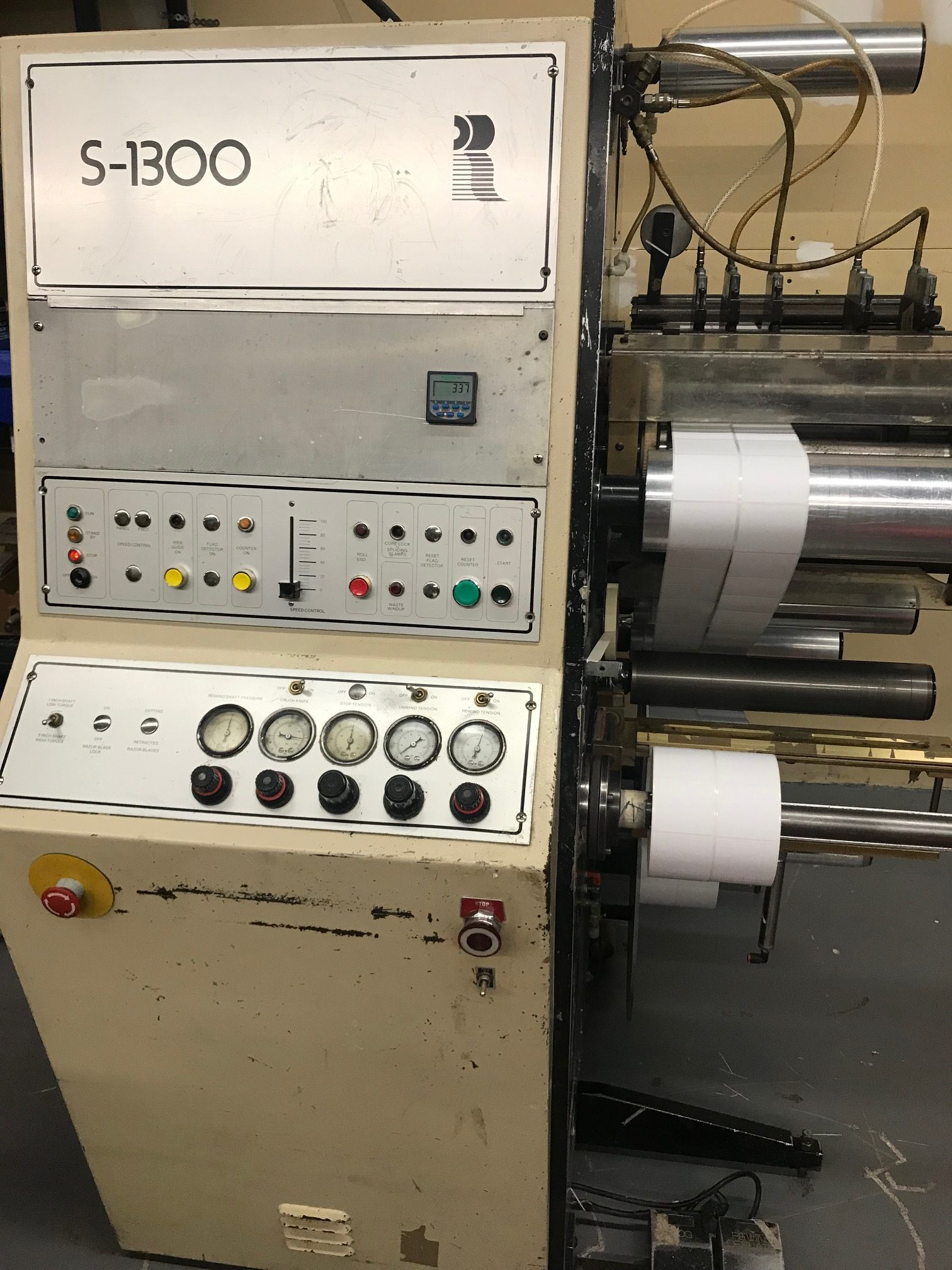 Rotoflex S-1300 - Used Flexo Printing Presses and Used Flexographic Equipment-1