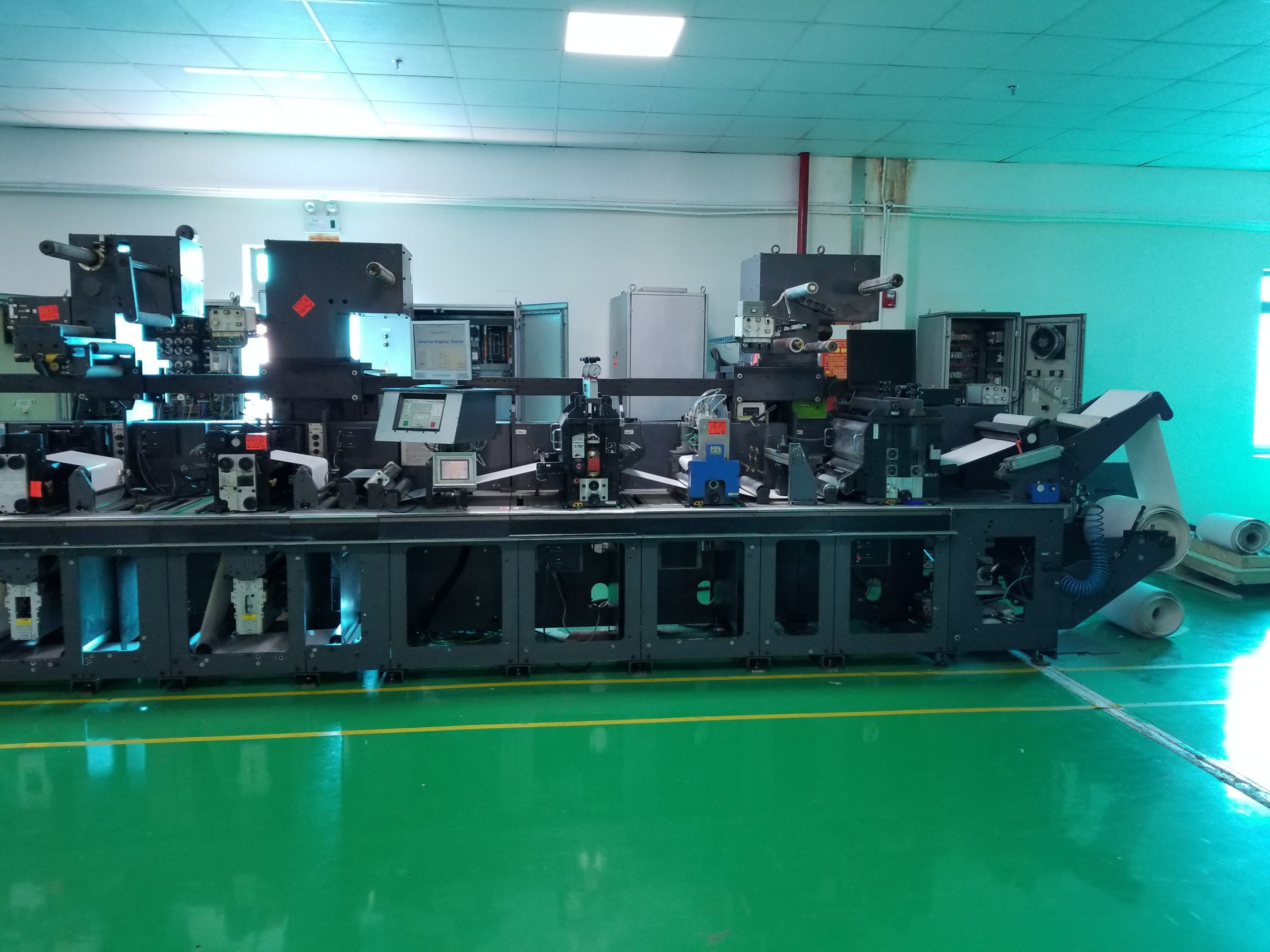Gallus EM410 - Used Flexo Printing Presses and Used Flexographic Equipment-1