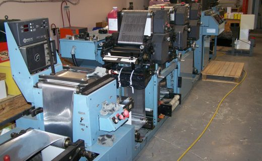 Propheteer 1000L - Used Flexo Printing Presses and Used Flexographic Equipment