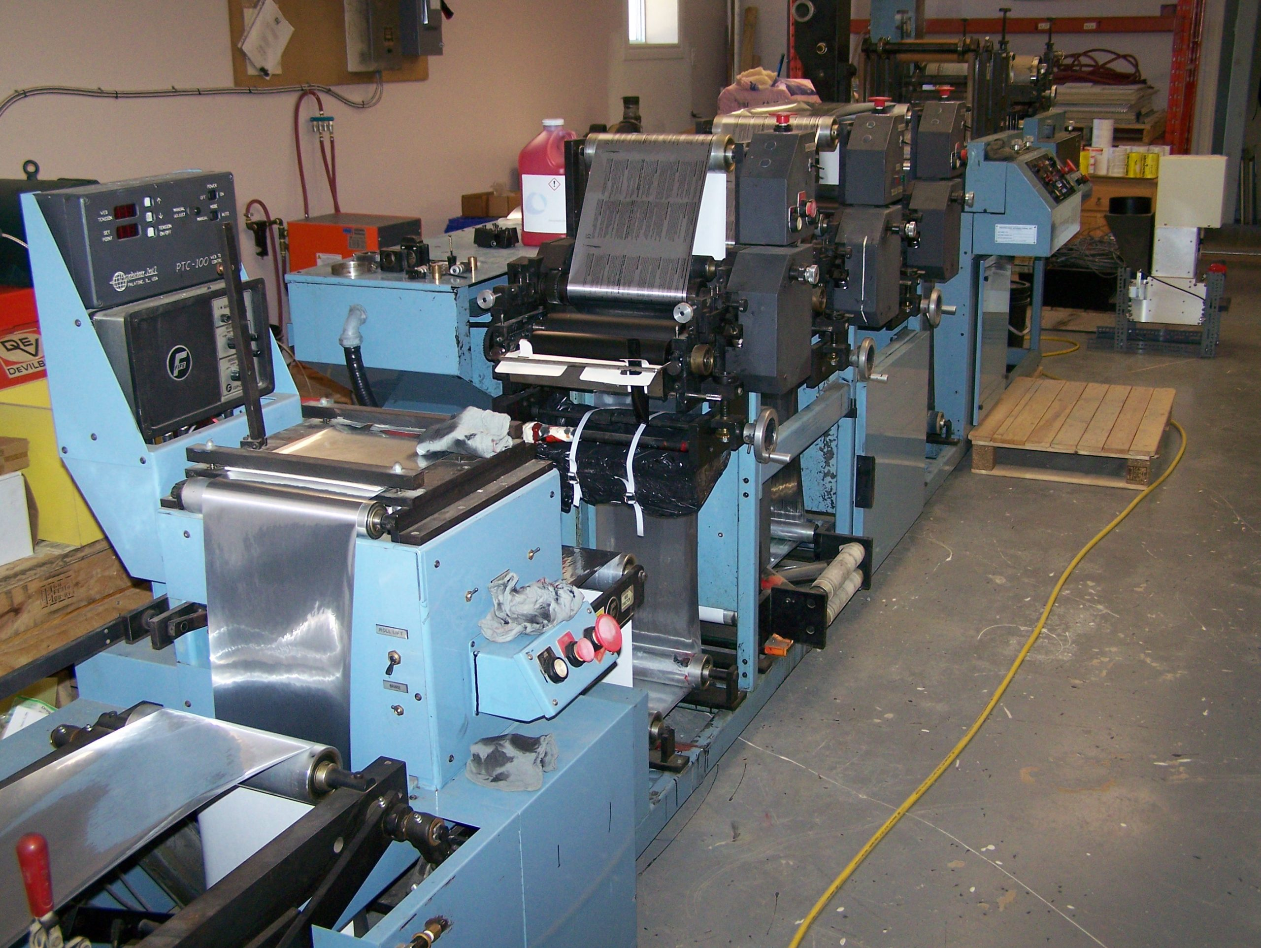 Propheteer 1000L - Used Flexo Printing Presses and Used Flexographic Equipment-0