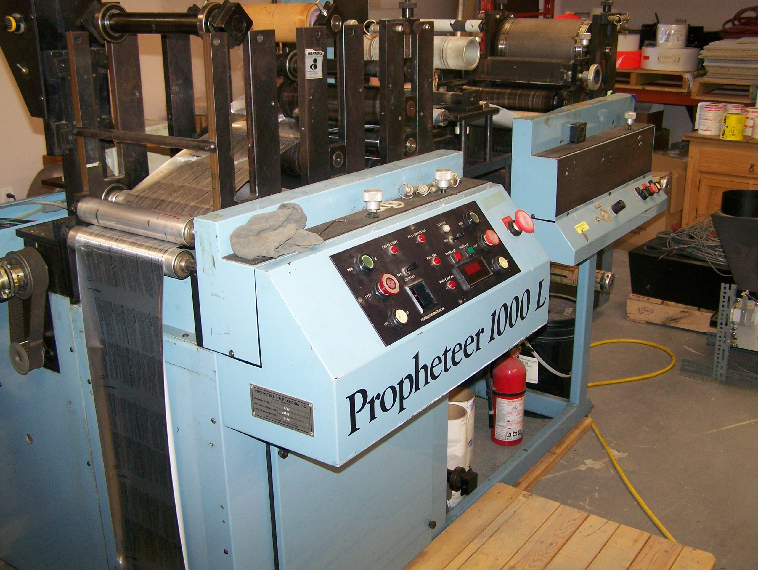 Propheteer 1000L - Used Flexo Printing Presses and Used Flexographic Equipment-4