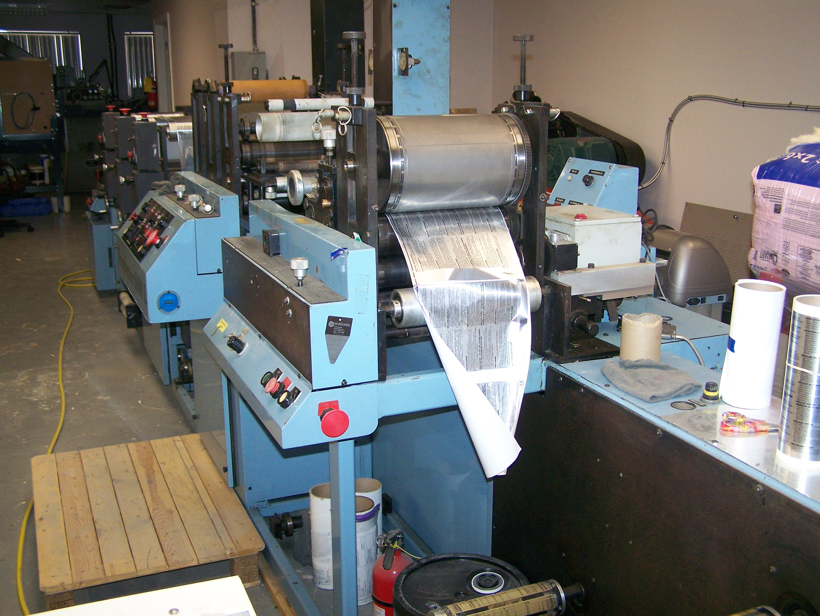 Propheteer 1000L - Used Flexo Printing Presses and Used Flexographic Equipment-5